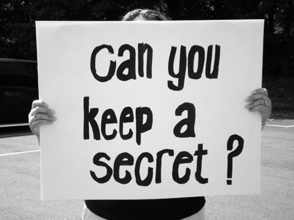 a secret i kept from my