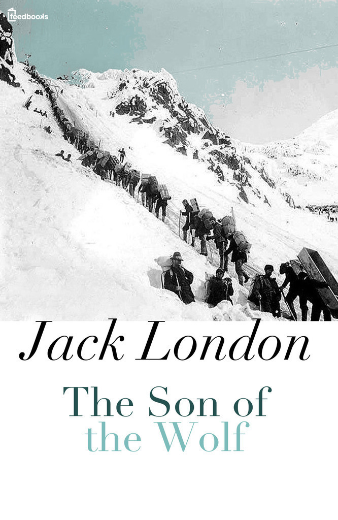 a mad hunt for gold in the son of the wolf by jack london