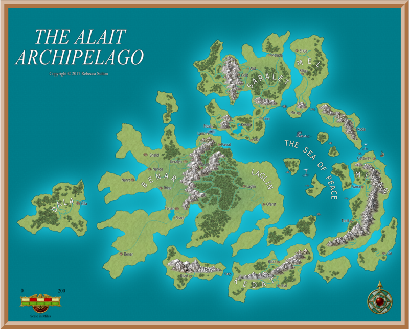Map of the Alait Archipelago